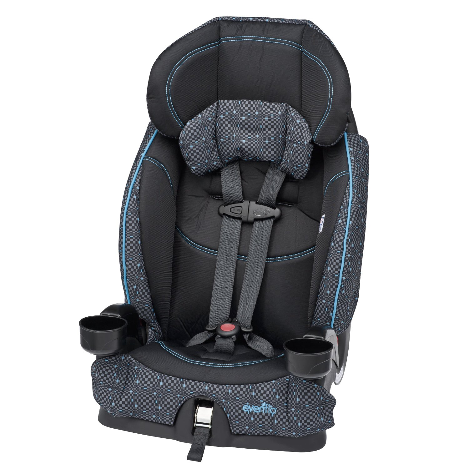 evenflo chase lx harnessed booster car seat review 2015. Black Bedroom Furniture Sets. Home Design Ideas